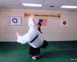 飯田最高師範の演武