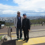 塩見氏(左)と飯田塾長